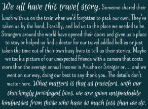 - Pam Mandel, Passports with Purpose