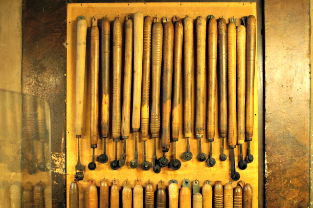leatherworking tools in Florence