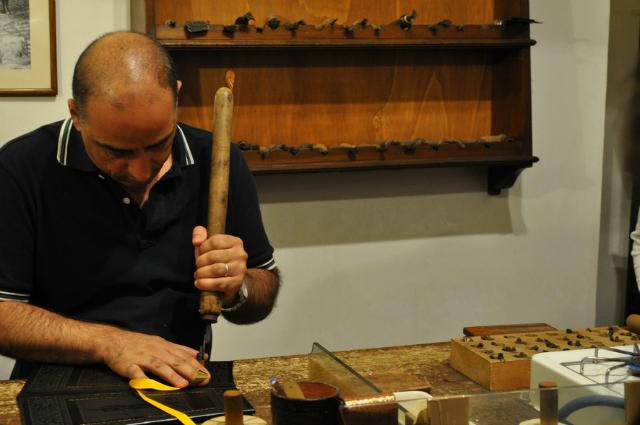 Florentine leather shop