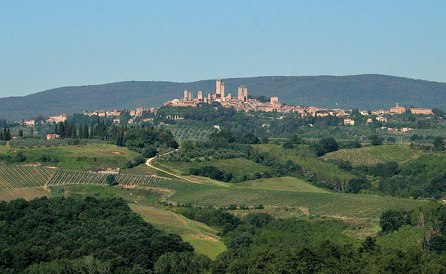 San Gimignano (by cfwee on Flickr)