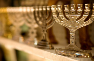 Menorahs || creative commons photo by Photo Gallery Israeli Ministry of Tourism