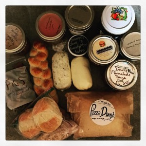 The haul from my inaugural PDX Food Swap.