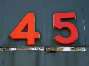 45 || creative commons photo by Seth Tisue