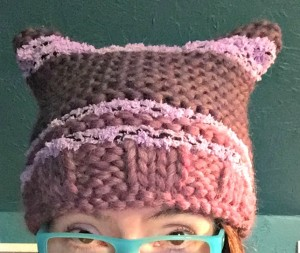 pussyhat #2 for my stepkid
