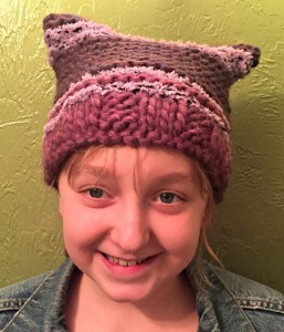pussyhat #2 on its human