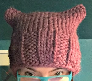 pussyhat #3 for my mom